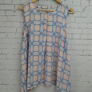 Dana Buchman Sleeveless Tunic Size: L